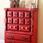 red dresser after full