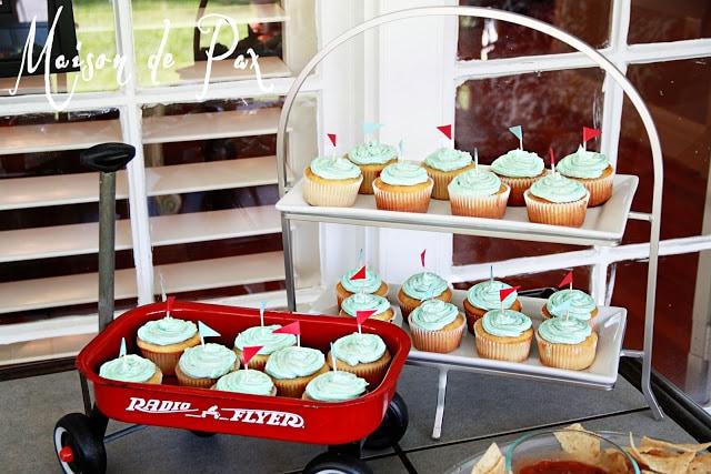 Elliot party cupcakes
