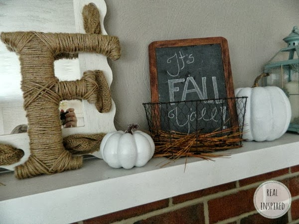 My First Fall Mantel!