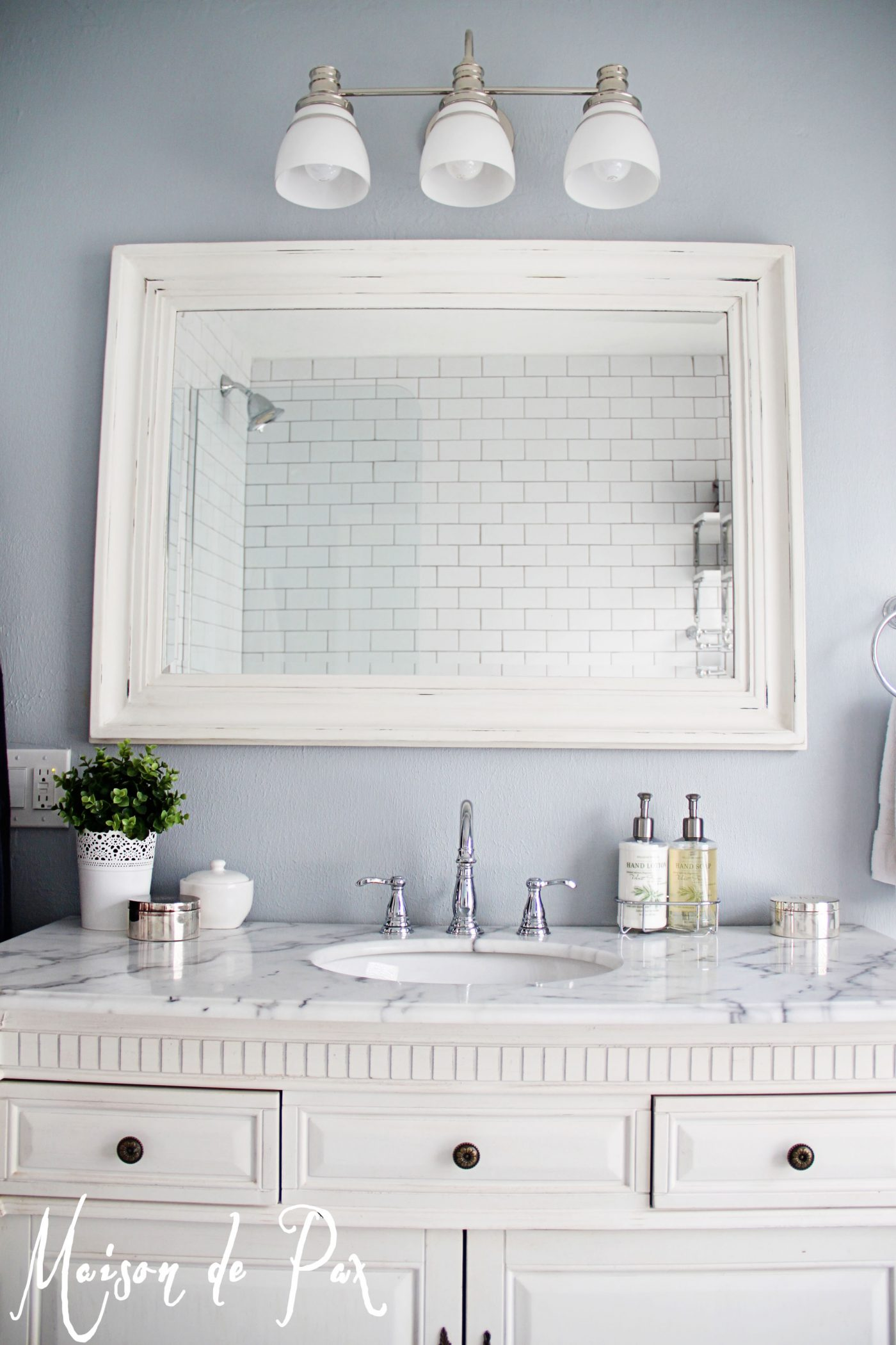Bathroom renovations budget tips for Bathroom vanity mirrors