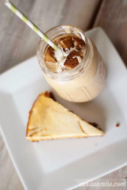 pumpkin cheesecake milkshake2