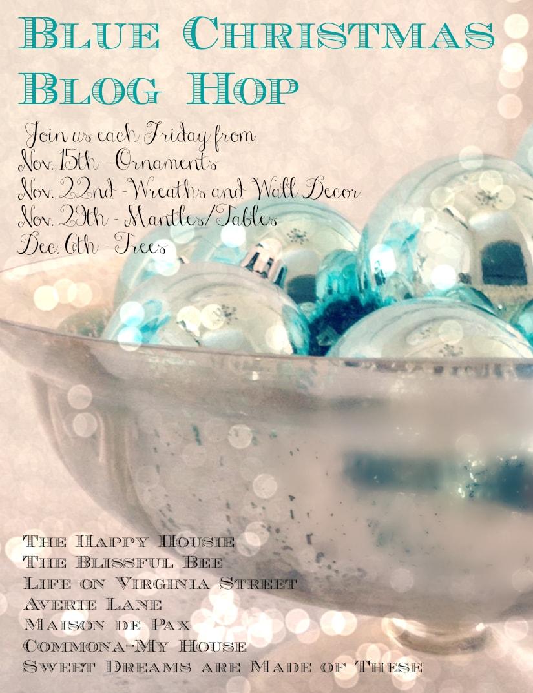 Blue Christmas Blog Hop