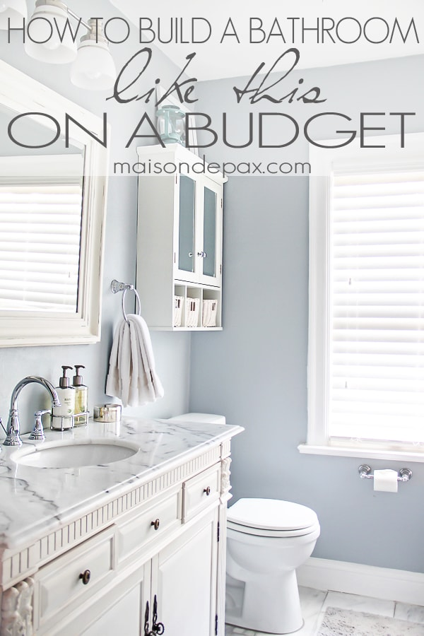 Bathroom renovations budget tips for Remodeling bathroom ideas on a budget