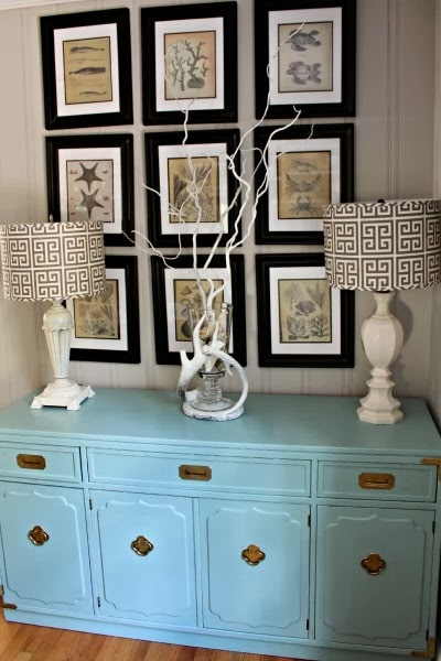 Robins Egg Blue Dresser