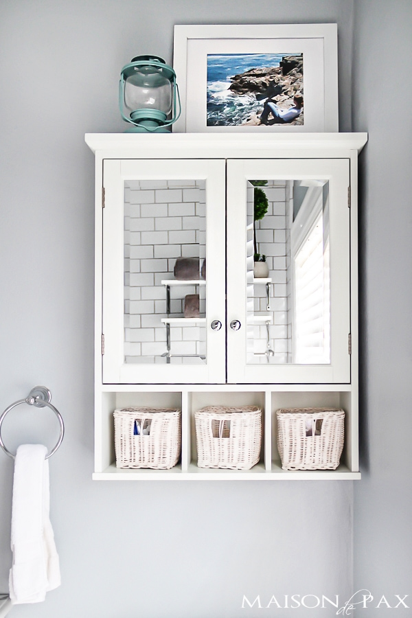 Amazing Bathroom Storage Above Toilet Ideas