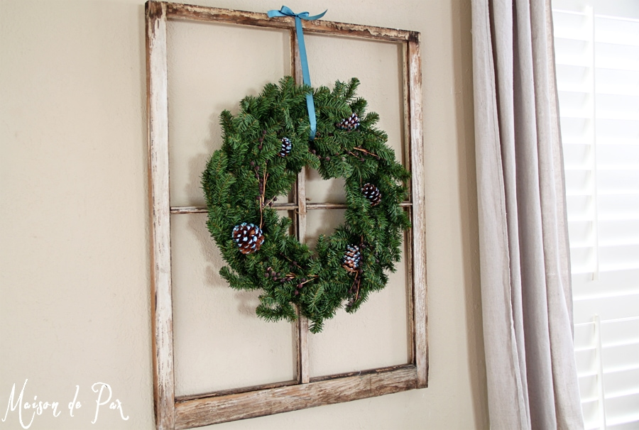 blue wreath angle