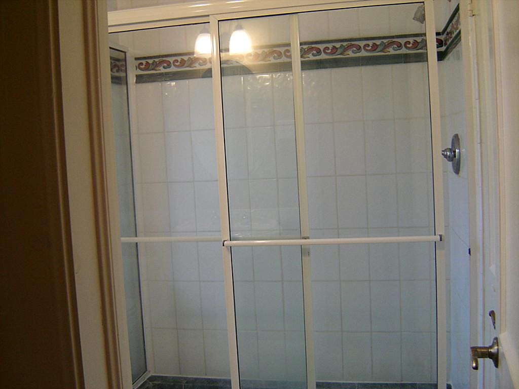 master shower before