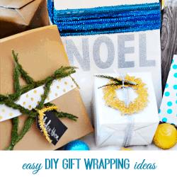 Easy DIY Gift Wrapping Ideas thumbnail
