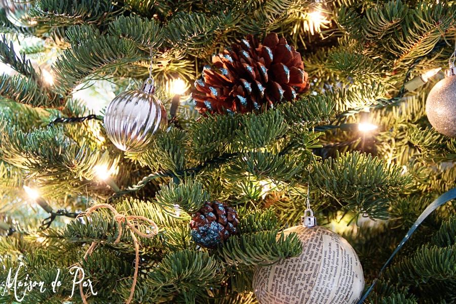 blue christmas tree ornaments
