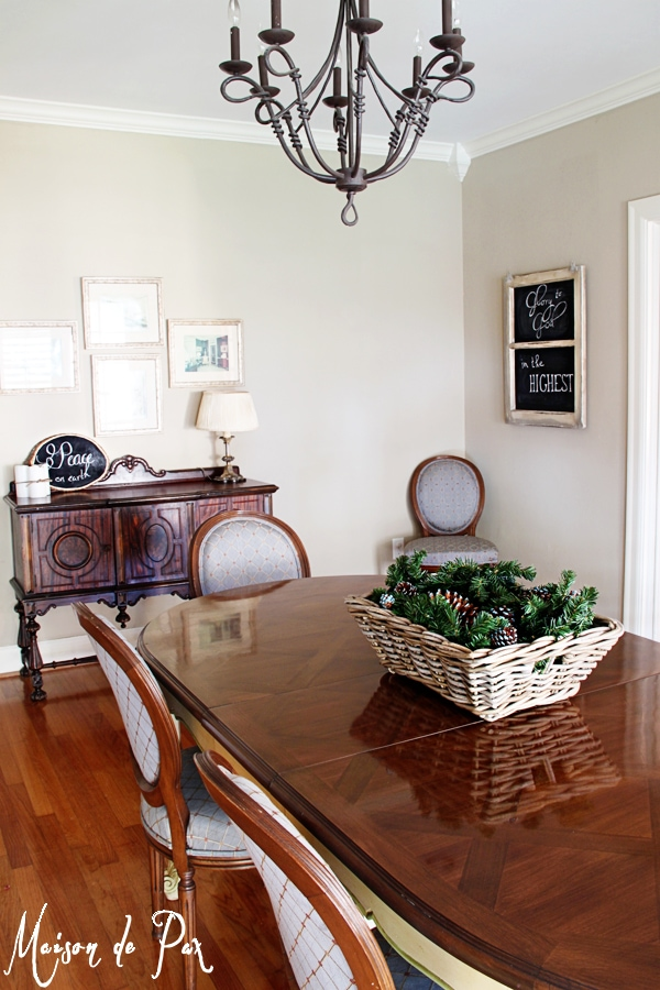 gorgeous dining room makeover at maisondepax.com
