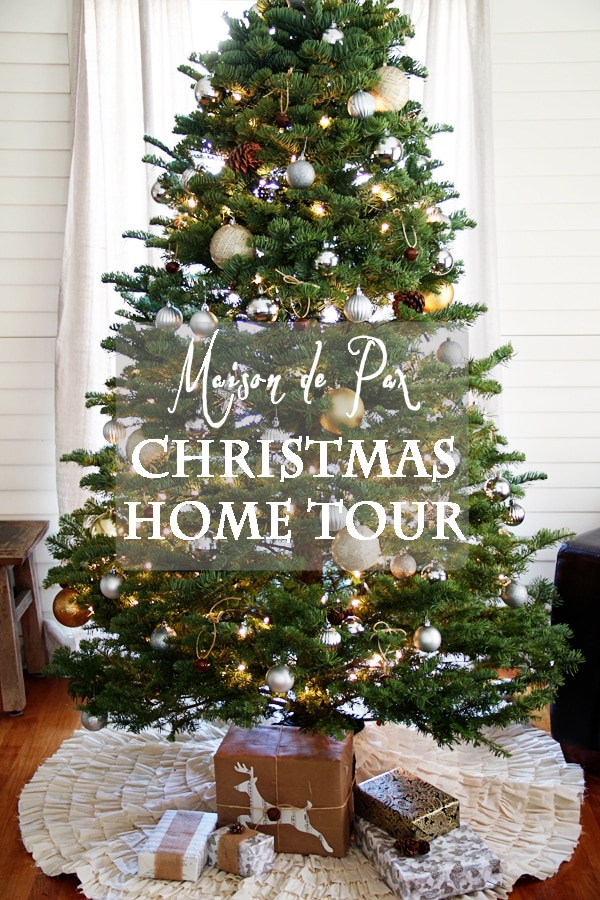 christmas tour sign