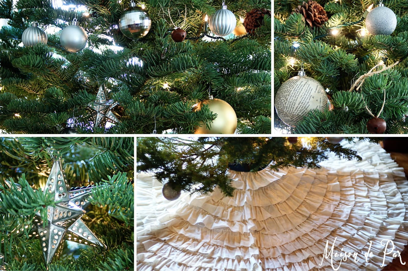 christmas tour tree collage