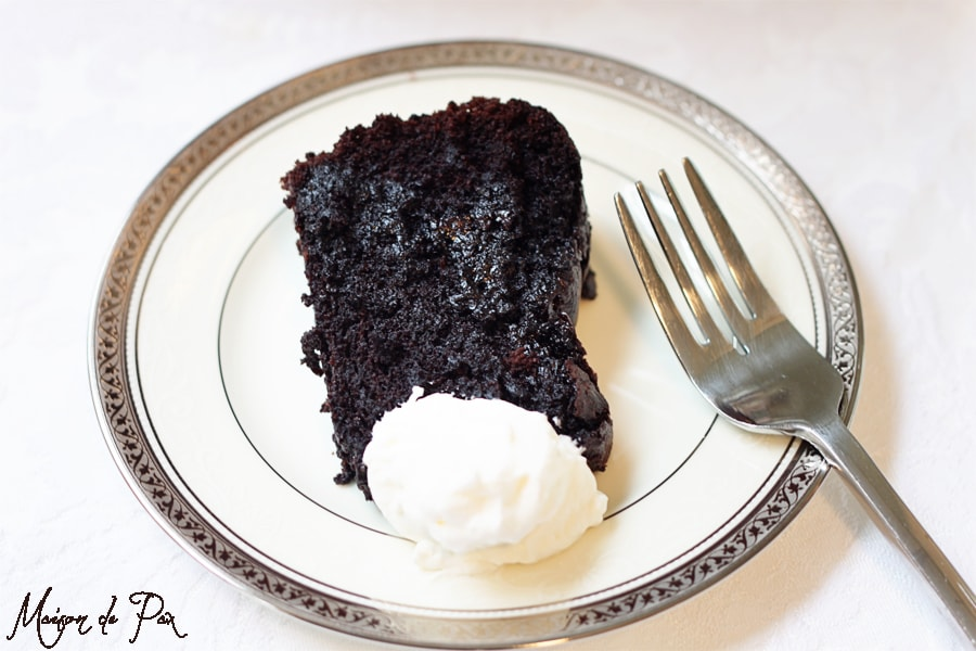 coffee kahlua chocolate cake... the perfect combination