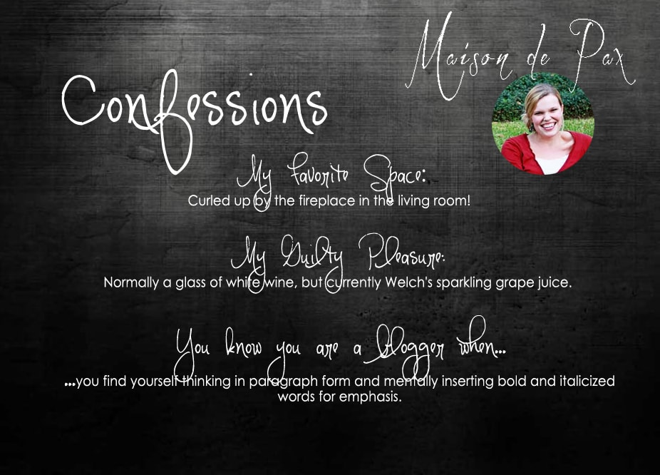 """Don't miss the """"Confessions of a Newbie Blogger"""" Series going on this week!"""