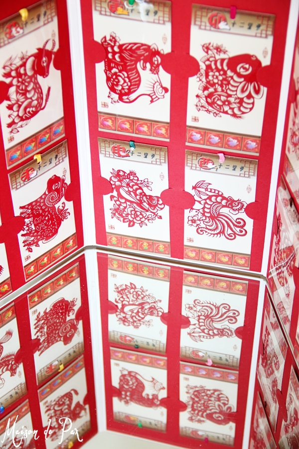 chinese new year cut paper