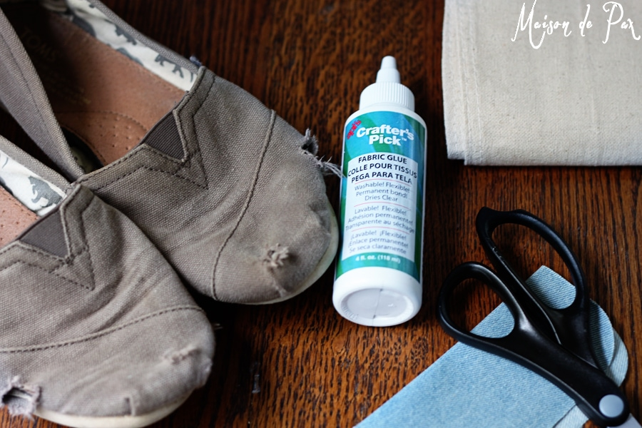 diy toms repair supplies