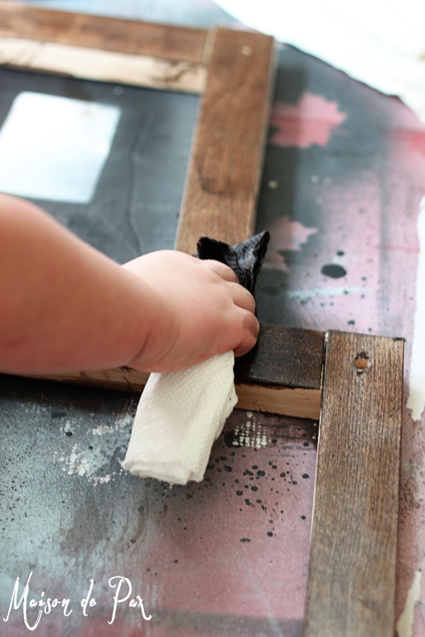 Turn flat, lifeless wood into a gorgeous, vintage-looking piece with this easy tutorial!