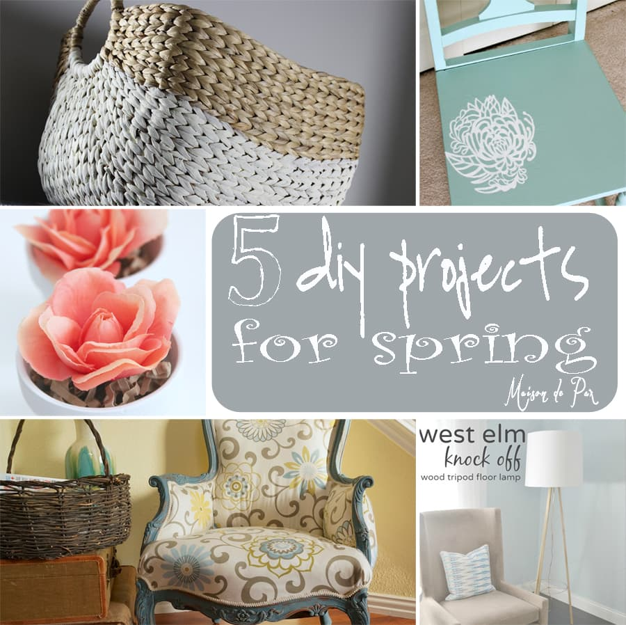 5 diy projects for spring