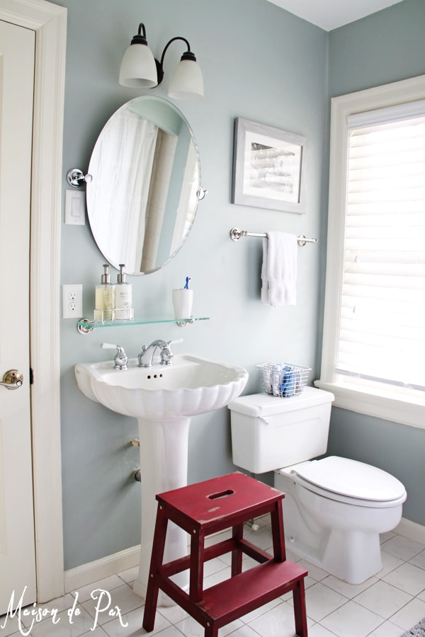 gorgeous bath makeover at maisondepax.com