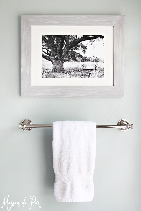 Tour a beautiful, classic bathroom that is versatile enough for both kids and guests!