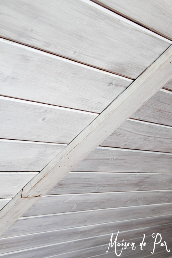 How To Whitewash Wood Maison De Pax