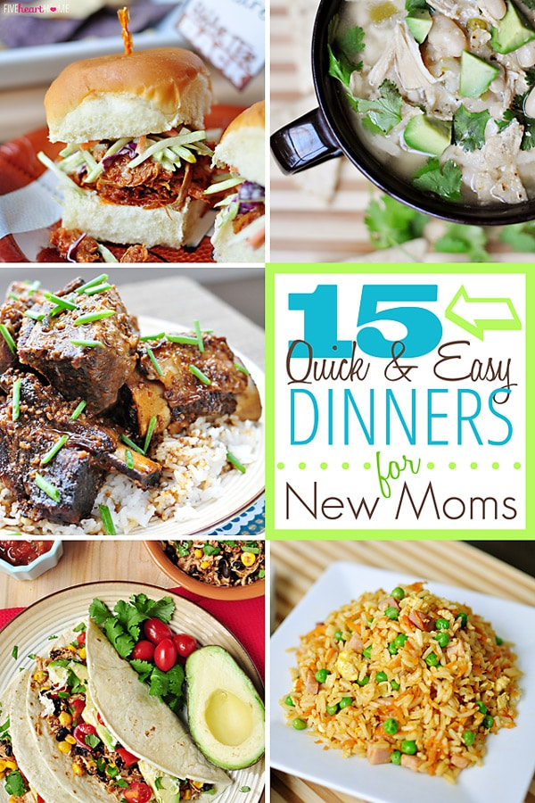 Make delicious and EASY meals for your family, even when you're short on time! Find 15 quick and easy recipes at maisondepax.com
