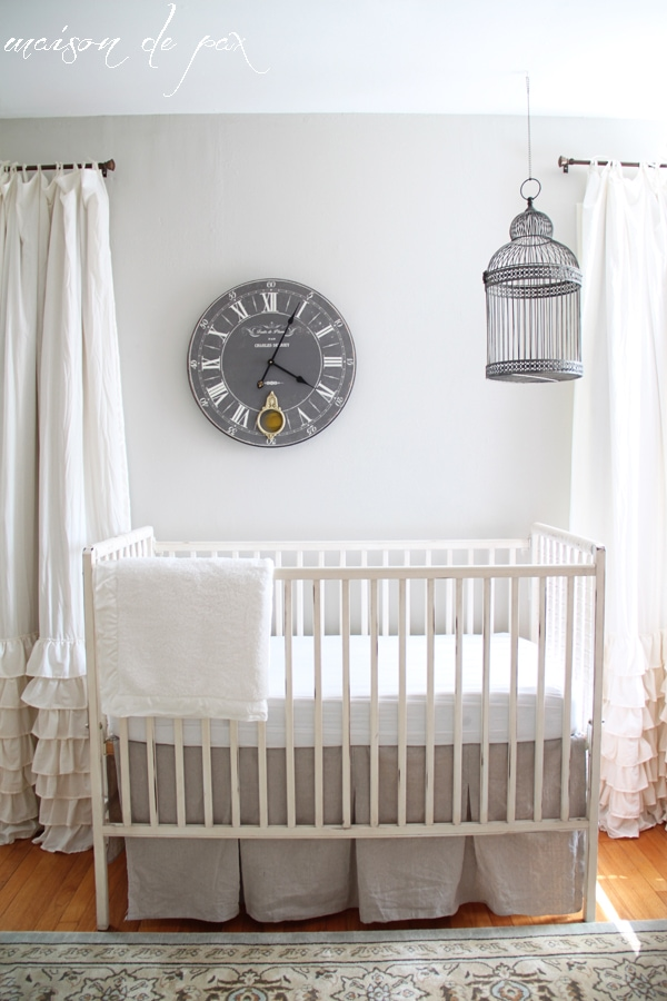 gorgeous nursery makeover at maisondepax.com