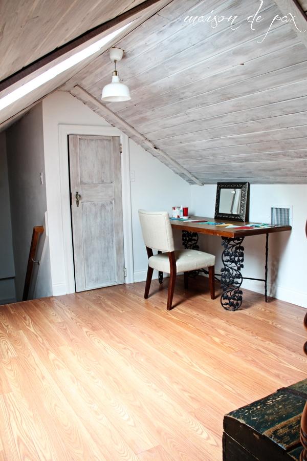 attic desk