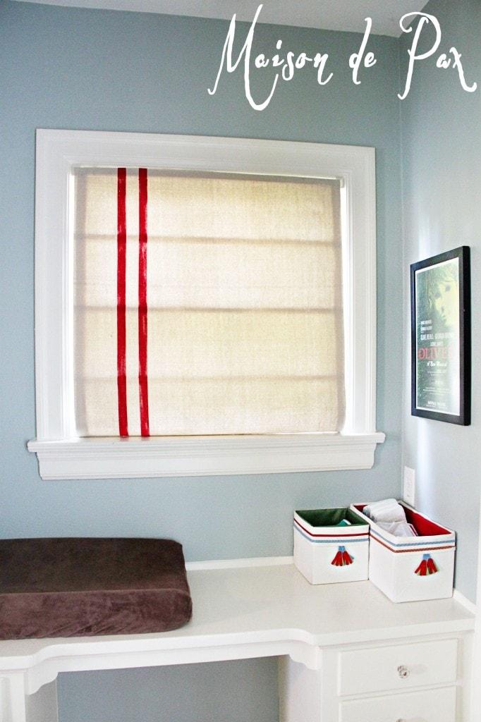 gorgeous boys' room makeover at maisondepax.com