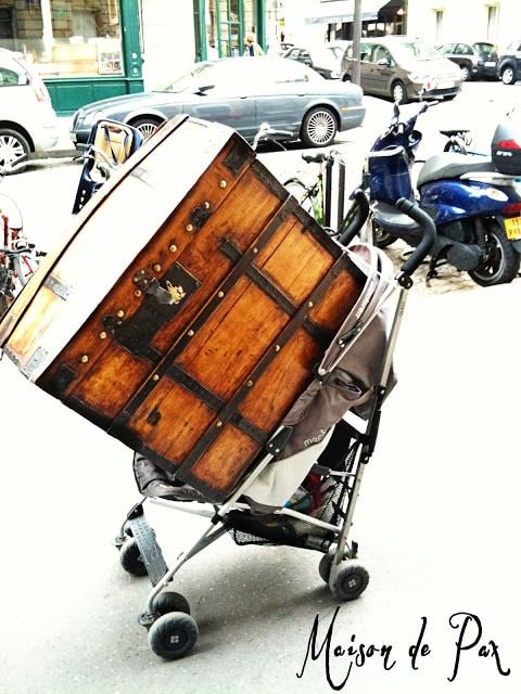 trunk in stroller