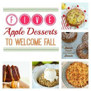 5 delicious apple desserts, perfect for fall! via maisondepax.com