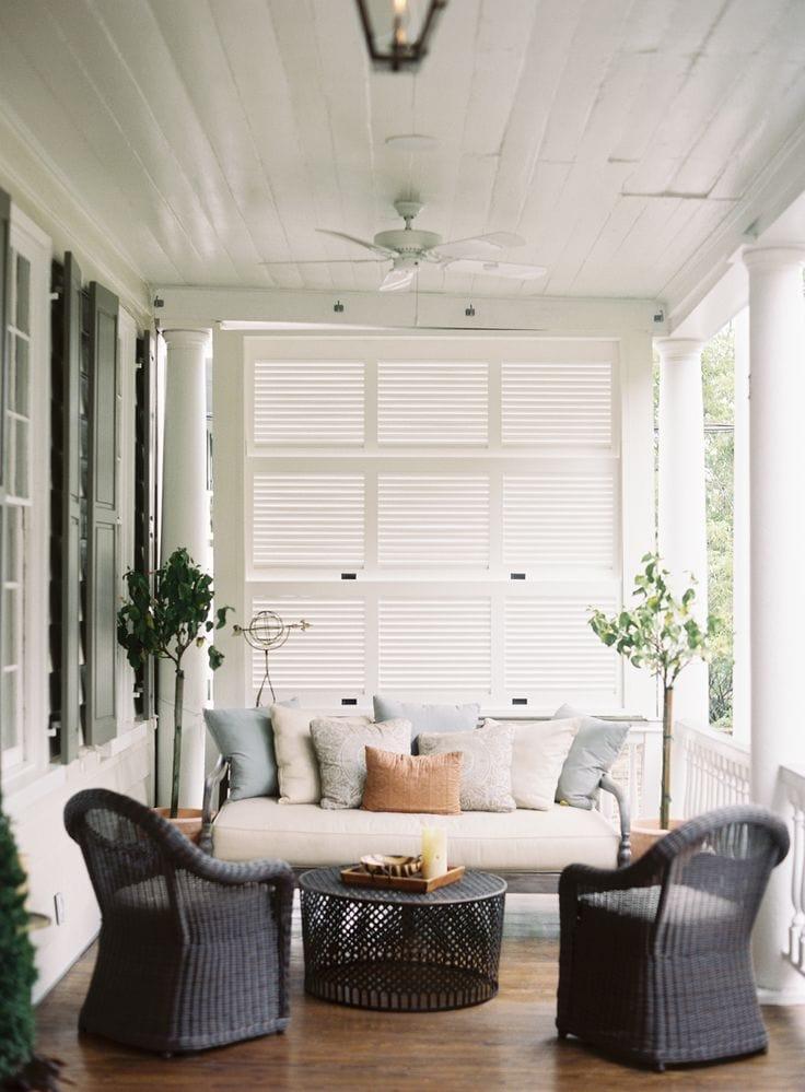 Beautiful collection of back porch inspiration via maisondepax.com