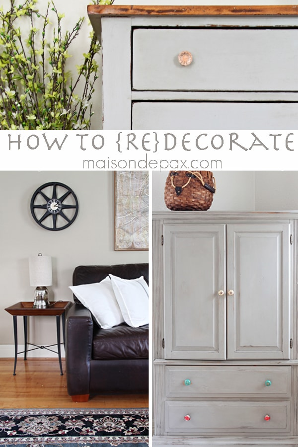 Tips for keeping your home decor on-trend and up to date without breaking the bank at maisondepax.com #redecorate #homedecor #HavertysRefresh #ad