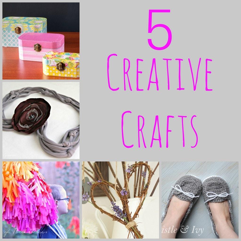 5 creative crafts: diy crafty inspiration via maisondepax.com