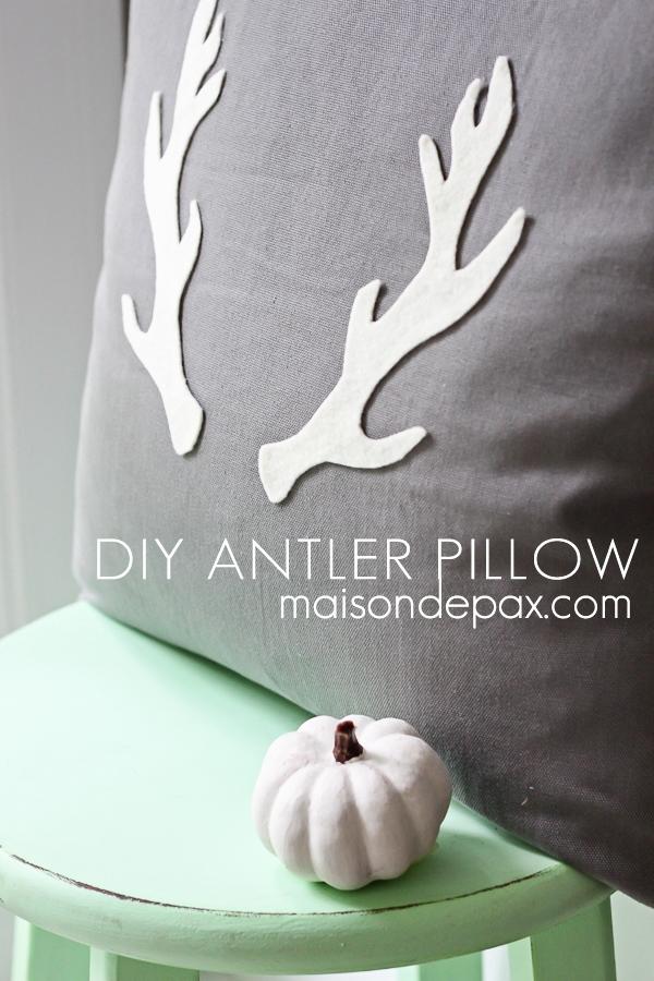 Antler Pillow (sign2)