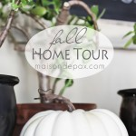 Home tour - full of fall decorating ideas! via maisondepax.com #autumn #fall #decor #diy