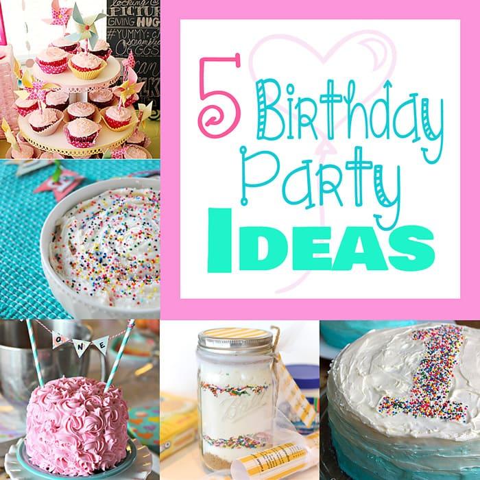5 fabulous birthday part ideas via maisondepax.com