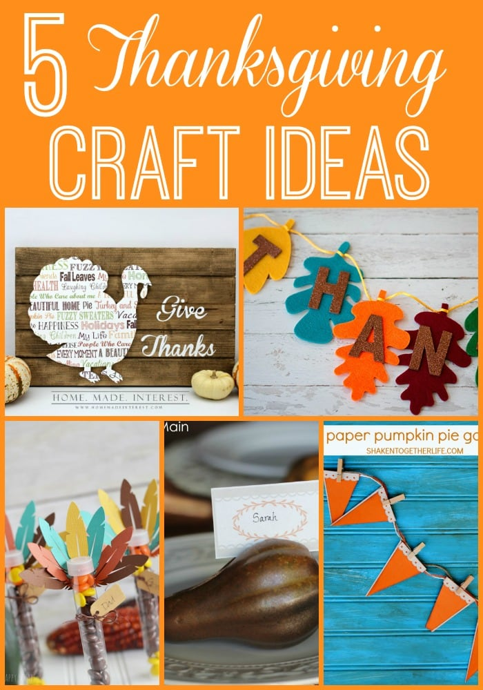 Adorable and easy Thanksgiving crafts via maisondepax.com #diy #craft #fall