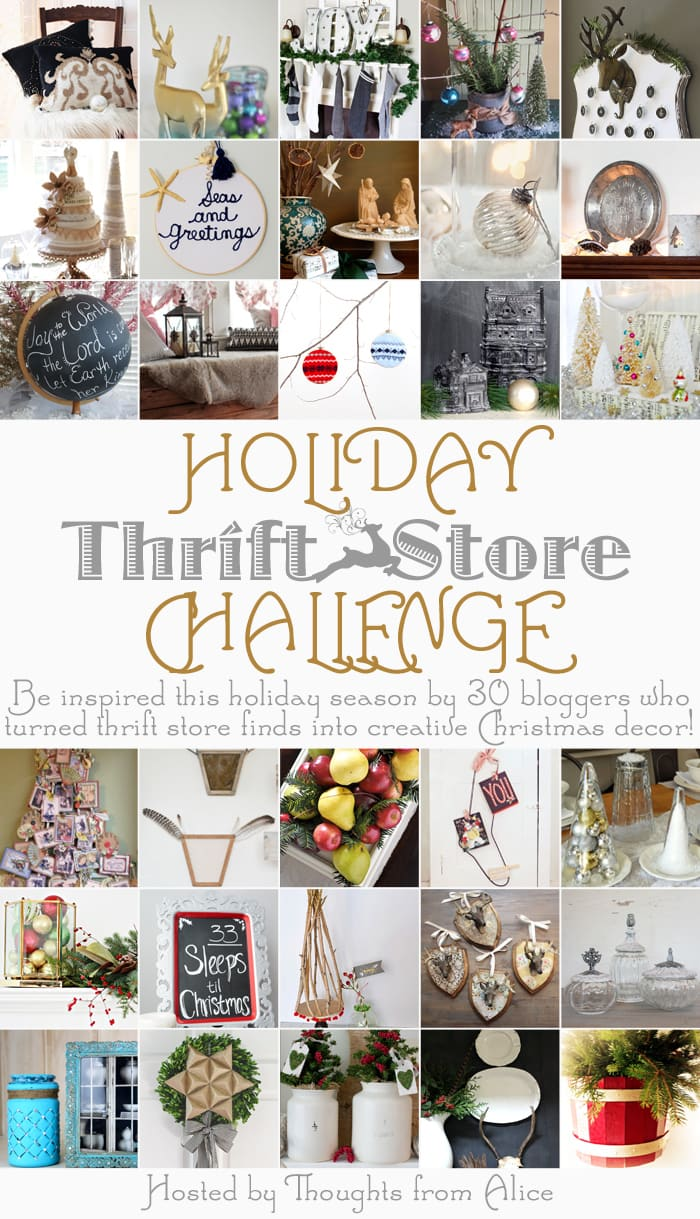 30 incredible ideas to create gorgeous Christmas decor from thrift store items via maisondepax.com #christmas #decor #sew