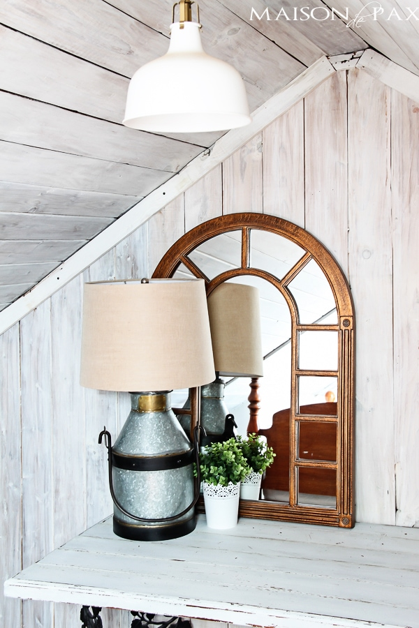 great ideas on how to mix styles: rustic, classic, traditional, industrial | via maisondepax.com #eclectic #design #decor