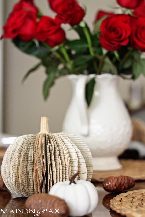 on being thankful... via maisondepax.com #fall #decor #gratitude
