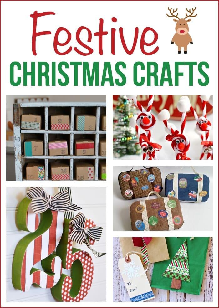 Cute Christmas crafts, perfect for the holiday season! via maisondepax.com