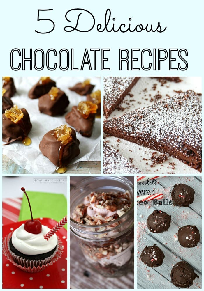 Need a chocolate fix?  Don't miss these delicious chocolate recipes! maisondepax.com