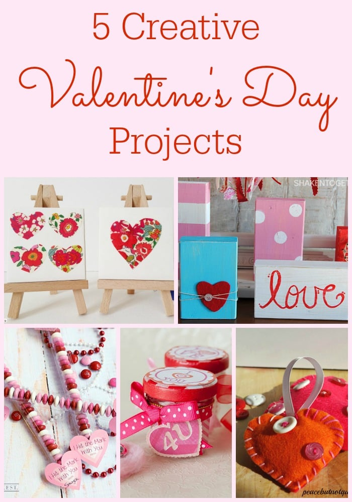 Adorable, creative Valentines Day projects | maisondepax.com