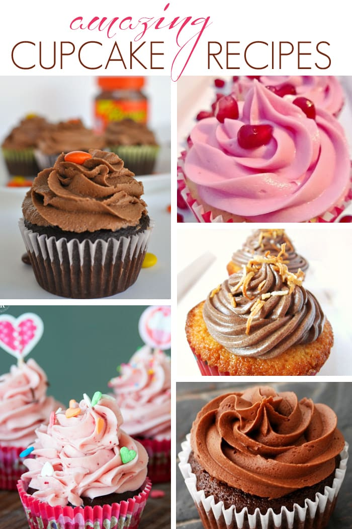 Need a treat?  Try one of these incredible cupcake recipes! | maisondepax.com