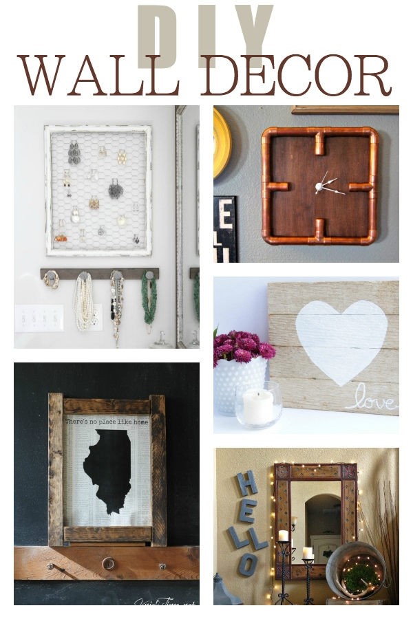 Awesome DIY wall decor projects | maisondepax.com