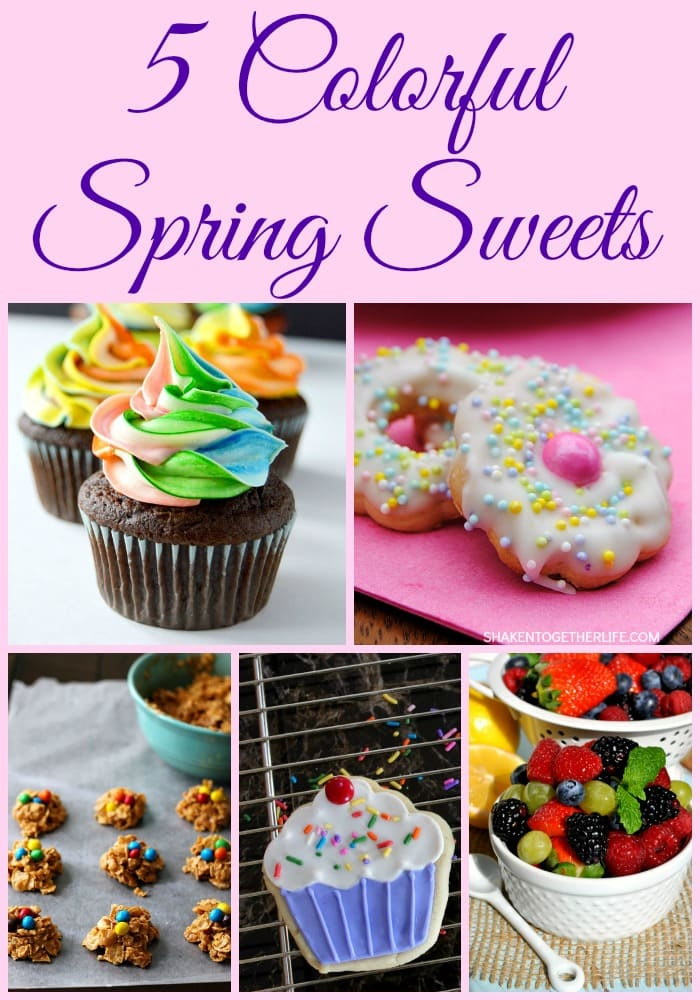 Delightful, colorful treats - perfect for spring!  via maisondepax.com #recipe #spring