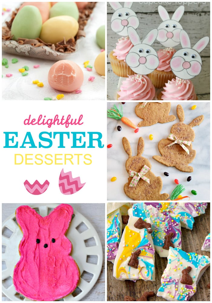 Adorable easter dessert recipes!