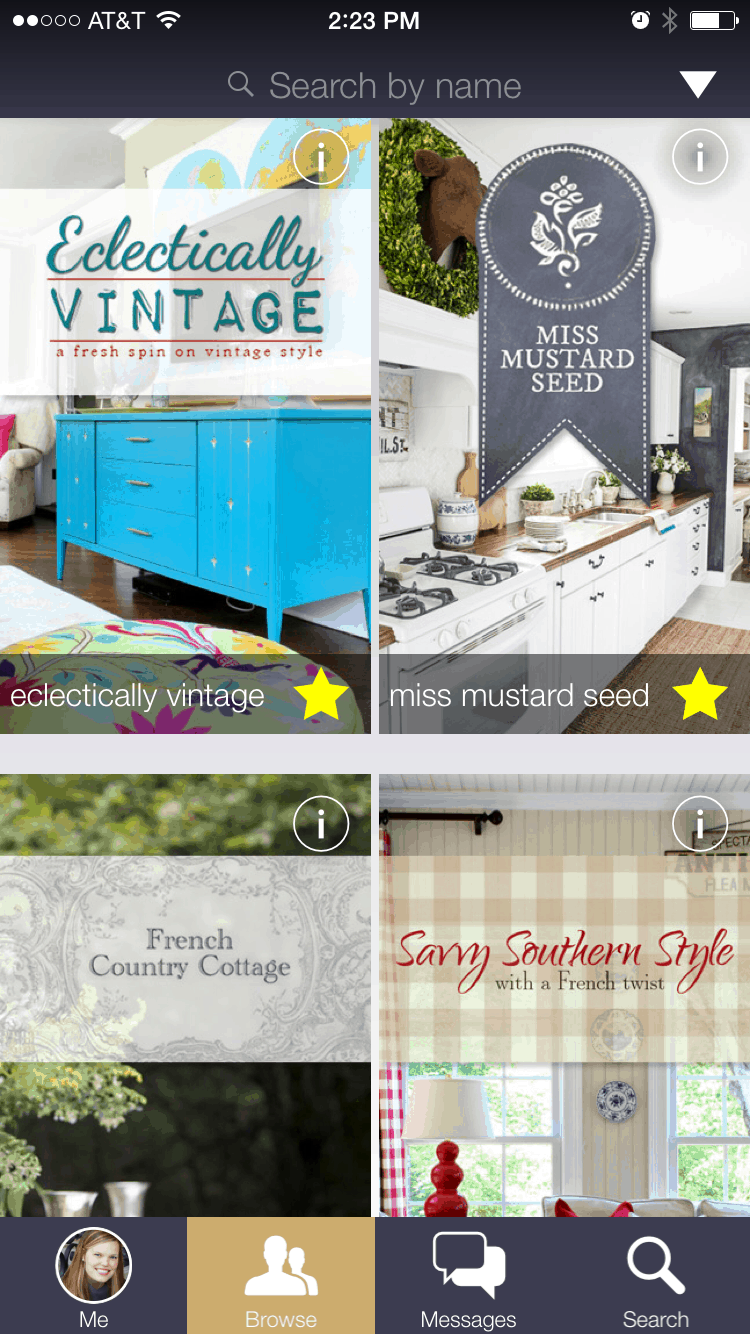 following your favorite blogs is a snap with the bHome App!