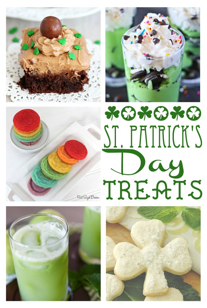Delicious treats perfect for St Patrick's Day! maisondepax.com